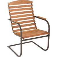 "CG-49Z Country Garden Spring Chair 51006, Topper Stackable Steel Container 51006 Solid, 35""L x 35""W x 24""H, Unpainted"