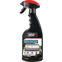 W69 Weber Stainless Steel Polish Barbeque Grill Cleaner W67, Weber Stainless Steel Polish Barbeque Cleaner