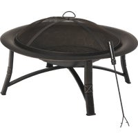FT-21039 Outdoor Expressions 35 In. Steel Fire Pit expressions fire outdoor pit