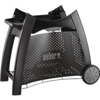 6525 Weber Q Grill Cart with Tank Screen cart grill