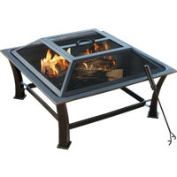 FT-51256B Outdoor Expressions 30 In. Square Fire Pit expressions fire outdoor pit