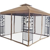 TJSG-127-3X3-LEAF Outdoor Expressions 10 Ft. x 10 Ft. Steel Gazebo expressions outdoor
