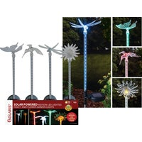 QLP268ABB Solaris Flower/Insect Solar Stake Light Lawn Ornament Solaris Solar Flower/Insect Stake Light Lawn Ornament