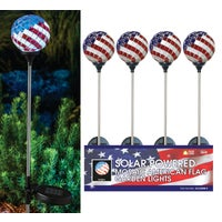 SLC528BB-9 Solaris Americana Solar Stake Light Solaris Solar Americana Stake Light Lawn Ornament