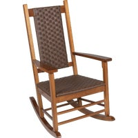 KN-2028N Jack Post Knollwood Classic Woven Rocking Chair chair rocking