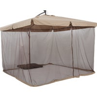 TJAUL-008-300-300 Outdoor Expressions 10 Ft. Gazebo Offset Patio Umbrella expressions outdoor patio umbrella