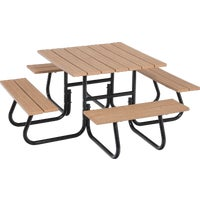 FC-4411 Jack Post 4-Sided Picnic Table - Frame Only jack picnic post table