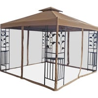 TJSG-127B-4X4 Outdoor Expressions 12 Ft. x 12 Ft. Steel Gazebo expressions outdoor
