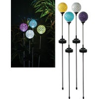 SLY180A Solaris Mosaic Glass Solar Stake Light
