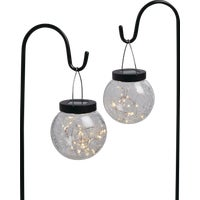 LG-28-2 Outdoor Expressions Hanging Solar Stake Light 2-Pack
