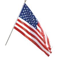 AA-US1-1 Valley Forge All-American 6 Ft. Flag Pole Kit AA-US1-1, Polyester and Cotton U.S. Flag Kit