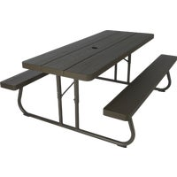 60110 Lifetime Folding Picnic Table picnic table