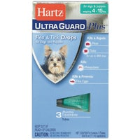 98206 Hartz UltraGuard Plus Flea & Tick Treatment Drops For Dogs 98206, Hartz UltraGuard Plus Flea & Tick Treatment For Dogs And Puppies
