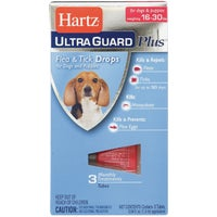 98207 Hartz UltraGuard Plus Flea & Tick Treatment Drops For Dogs 98207, Hartz UltraGuard Plus Flea & Tick Treatment For Dogs And Puppies