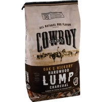 13518 Cowboy Natural Hardwood Lump Charcoal 13518, Cowboy Natural Hardwood Lump Charcoal