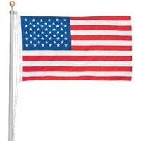 AFP20F Valley Forge American 20 Ft. Flag Pole Kit AFP20F, 20 Flag Pole Kit