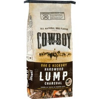 17208 Cowboy Natural Hardwood Lump Charcoal 17208, Cowboy Natural Hardwood Lump Charcoal