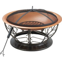 FT-114(2) Outdoor Expressions 30 In. Coppertone Fire Pit expressions fire outdoor pit