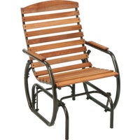 CG-41Z Jack Post Country Garden Hi-Back Glider Chair CG-41Z, Country Garden Hi-Back Glider Chair