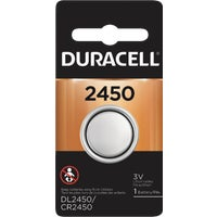 Duracell 2450 Lithium Coin Cell Battery 44287, 44287 Duracell Lithium Coin Watch Battery