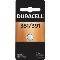 Duracell 381/391 Silver Oxide Button Cell Battery 42087, 42087 Duracell Silver Oxide Coin Watch Battery