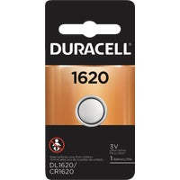Duracell 1620 Lithium Coin Cell Battery 43687, 43687 Duracell Lithium Coin Watch Battery