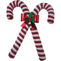 DCC-ST28 F C Young Double Candy Cane Holiday Decoration
