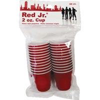 10443 Red Jr. Plastic Cups cups plastic
