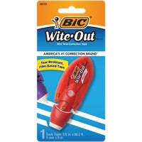 WOMTP11 Bic Wite-Out Mini Correction Tape correction tape