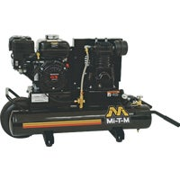 AM1-PH65-08M Mi-T-M 8 Gal. Portable Gas Twin-Stack Air Compressor air compressor