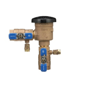 Threaded Polypropylene, Cast Bronze and 300L Stainless Steel 1 in. 150 psi BFP Vacuum Breaker