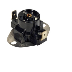 90-130 Degree Adjustable Fan Thermostat Switch in Black