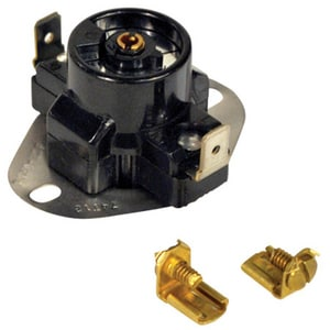 135-175 Degree Adjustable Limit Thermostat Switch in Black