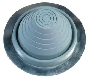 3 in. - 6 in. X 9-1/4 in. X 5 in. Rubber Pipe Flashing #4