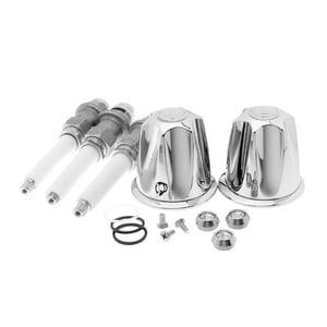 910-510 Two Handle Tub and Shower Rebuild Kit Polished Chrome