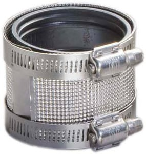 1-1/2 in. No-Hub Stainless Steel Coupling