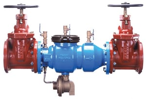 4 in. Epoxy Coated 300L Ductile Iron and Stainless Steel Flanged 175 psi Backflow Preventer