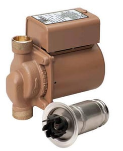 1/40HP 115V Bronze Sweat Cartridge Bronze Circulator Pump