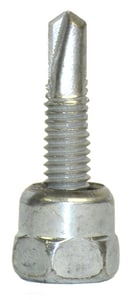1-1/2 in. Vertical Threaded 3/8 in. Rod Anchor for Steel