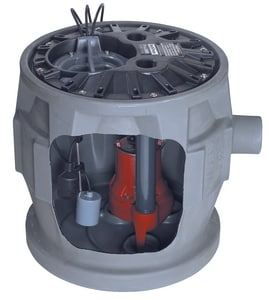 4/10 hp 115V Sewage Ejector System with Alarm