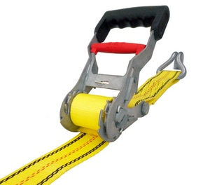 27 ft. Step Release Ratchet Tie Down with J-Hook