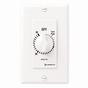 30 Minute Decor Timer Less Hold in White