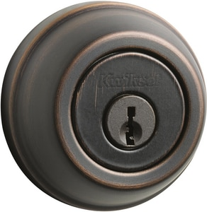 ANSI Grade 2 Single Cylinder Deadbolt in Venetian Bronze