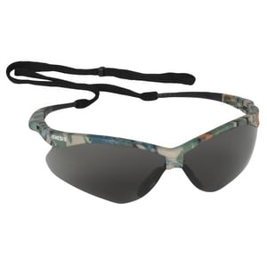 Safety Glasses with Smoke Lens and Camoflage Frame