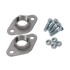 1 in. Stainless Steel Freedom Flange Set