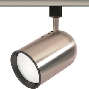 7 x 4-1/2 in. 1-Light 75W Track Light Head in Brushed Nickel