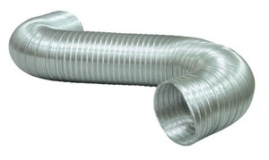 6 in. x 8 ft. Aluminum Semi-Rigid Flexible Air Duct