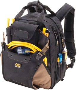16 in. 48-Pocket Deluxe Tool Backpack