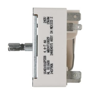 6 in. 240V Range Surface Burner Control Switch