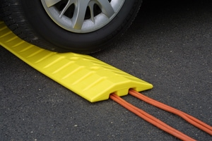 6 FT YELLOW SPEED BUMP CABLE PROTEC
